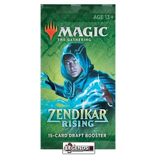 MTG - ZENDIKAR RISING - DRAFT - BOOSTER PACK - ENGLISH  (PRE-ORDER)