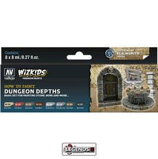 VALLEJO / WIZKIDS - PREMIUM PAINTS - HOW TO PAINT - DUNGEON DEPTHS