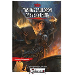 DUNGEONS & DRAGONS - 5th Edition RPG:  Tasha's Cauldron of Everything (Hardcover)