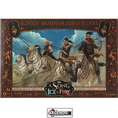 A Song of Ice & Fire: Tabletop Miniatures Game - BLOODY MUMMER - ZORSE RIDERS