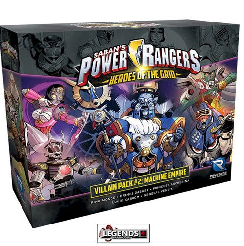 POWER RANGERS - Heroes of the Grid - Villain Pack #2 Machine Empire
