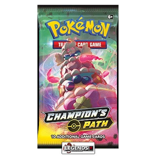 POKEMON - CHAMPION'S PATH - BOOSTER PACK