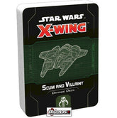 STAR WARS - X-WING - 2ND EDITION  - Scum & Villainy Damage Deck