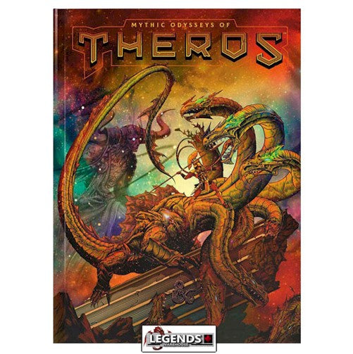 DUNGEONS & DRAGONS - 5th Edition RPG:  MYTHIC ODYSSEYS OF THEROS   (Exclusive Alternate Cover)