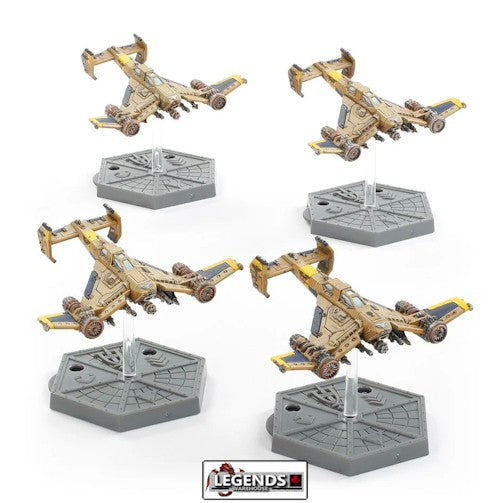 WARHAMMER:   Aeronautica Imperialis: Imperial Navy Avenger Strike Fighters