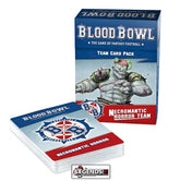 BLOOD BOWL - Blood Bowl Team – Necromantic Horror Team Card Pack