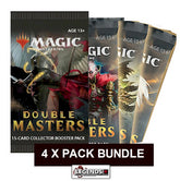 MTG - DOUBLE MASTERS BOOSTER - (4x) PACK SPECIAL - ENGLISH