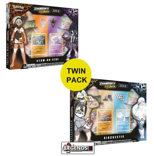 POKEMON - CHAMPION'S PATH - SPECIAL PIN COLLECTION - TWIN PACK