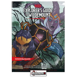DUNGEONS & DRAGONS - 5th Edition RPG:  The Explorer's Guide to Wildemount