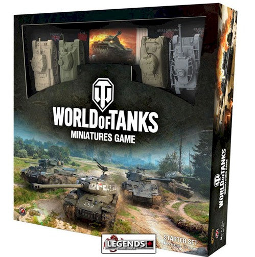 WORLD OF TANKS:  MINIATURES GAME - STARTER SET