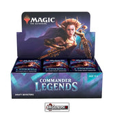 MTG - COMMANDER LEGENDS - DRAFT - BOOSTER BOX - ENGLISH  (PRE-ORDER)