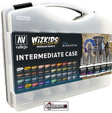 VALLEJO / WIZKIDS - PREMIUM PAINTS - INTERMEDIATE CASE