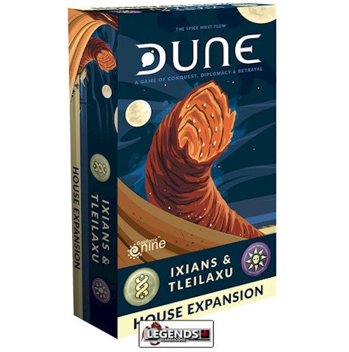 DUNE - THE BOARD GAME - IXIANS AND TLEILAXU HOUSE EXPANSION
