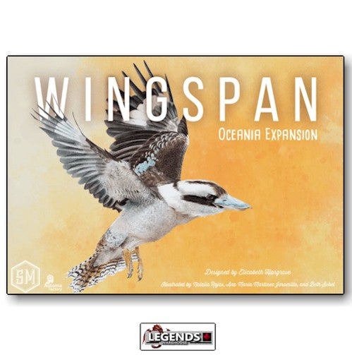 WINGSPAN - OCEANIA EXPANSION   (PRE-ORDER)