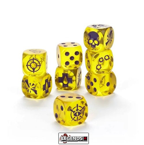 NECROMUNDA: HOUSE OF BLADES - DICE SET