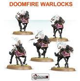 AGE OF SIGMAR - DAUGHTERS OF KHAINE - DOOMFIRE WARLOCKS OR DARK RIDERS