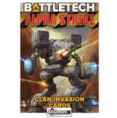 BATTLETECH - Alpha Strike Game Aids - Clan Invasion Cards