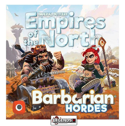 IMPERIAL SETTLERS - EMPIRES OF THE NORTH - BARBARIAN HORDES EXPANSION