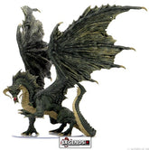 DUNGEONS & DRAGONS ICONS - ADULT BLACK DRAGON PREMIUM FIGURE   (PRE-ORDER)