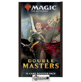 MTG - DOUBLE MASTERS BOOSTER PACK - ENGLISH   (PRE-ORDER)
