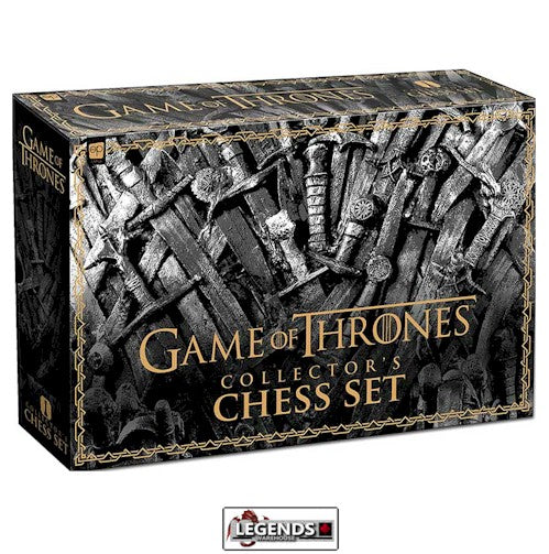 CHESS SET - GAME OF THRONES