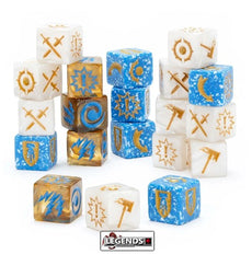 Warhammer Underworlds:  DIRECHASM - Grand Alliance Order Dice Pack