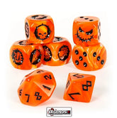 BLOOD BOWL - Blood Bowl Team – Necromantic Horror Team Dice Set
