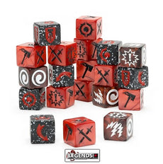 Warhammer Underworlds:  DIRECHASM - Grand Alliance Chaos Dice Pack