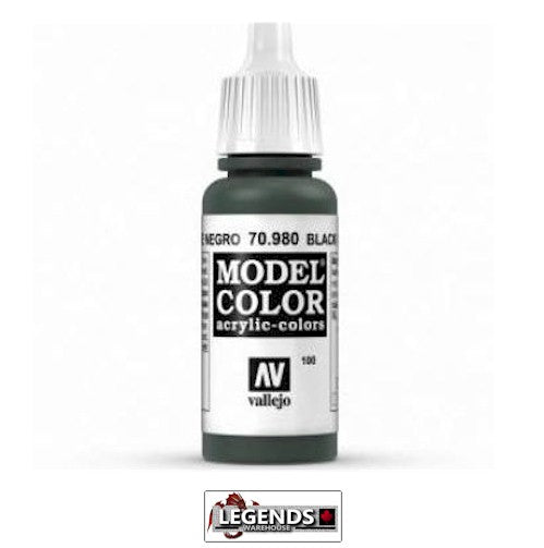 Vallejo Model Color 70.980 Black Green