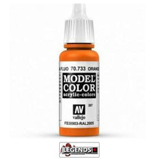 Vallejo Model Color 70-733 Orange Fluorescent