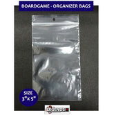 "BOARD GAME - ORGANIZER BAGS (100) - 3"" X 5"""