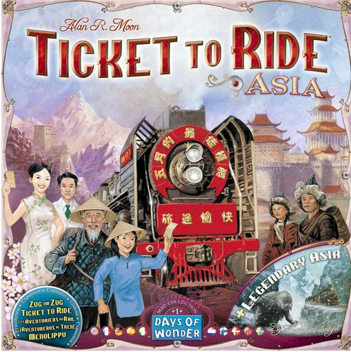 TICKET TO RIDE - Map Collection: Volume 1 - Team Asia & Legendary Asia