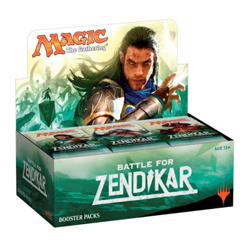 MTG - BATTLE FOR ZENDIKAR BOOSTER BOX - ENGLISH
