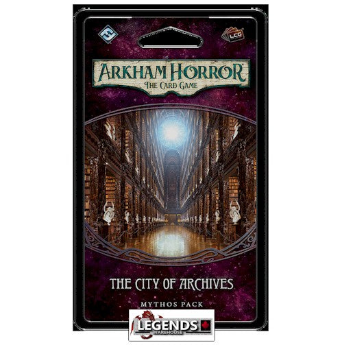 ARKHAM HORROR - The Card Game - The City of Archives
