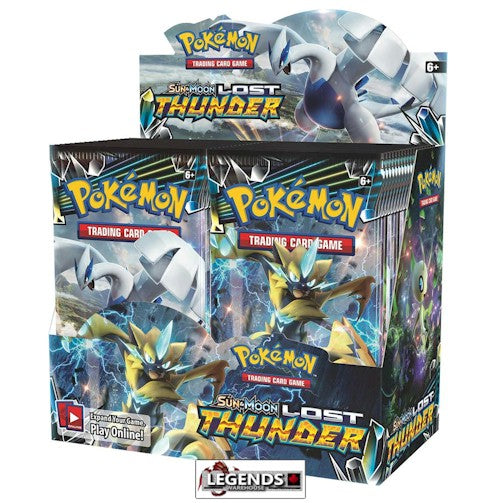 POKEMON - Sun & Moon - Lost Thunder  Booster Box