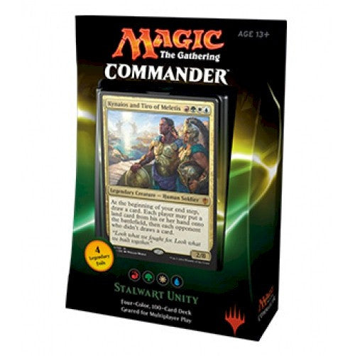 MAGIC COMMANDER - 2016 - STALWART UNITY
