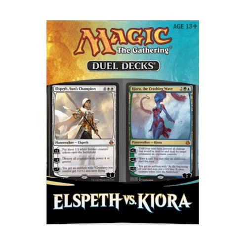 MTG DECKS - ELSPETH VS KIORA