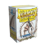 DRAGON SHIELD DECK SLEEVES - Dragon Shield • White