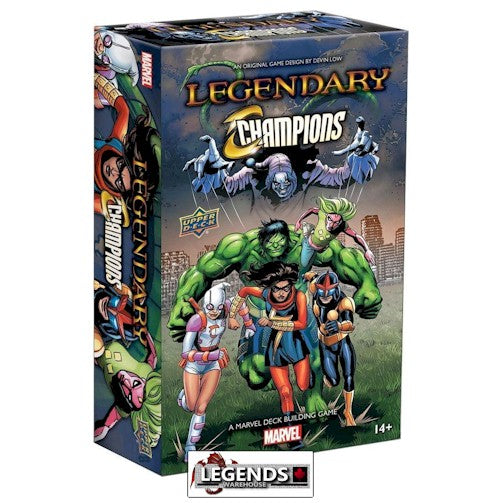LEGENDARY : A Marvel Deck Building Game - CHAMPIONS