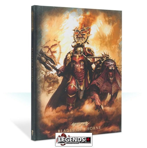 WARHAMMER AGE OF SIGMAR -  BATTLETOME - Blades of Khorne  LTD. EDITION