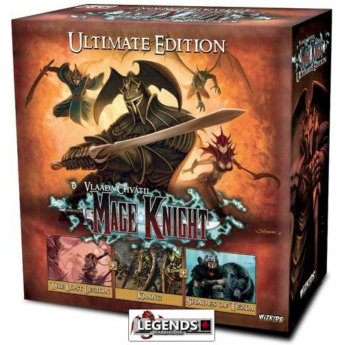 MAGE KNIGHT BOARD GAME - THE ULTIMATE EDITION