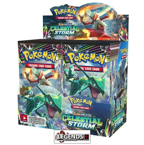 POKEMON - Sun & Moon - Celestial Storm  Booster Box