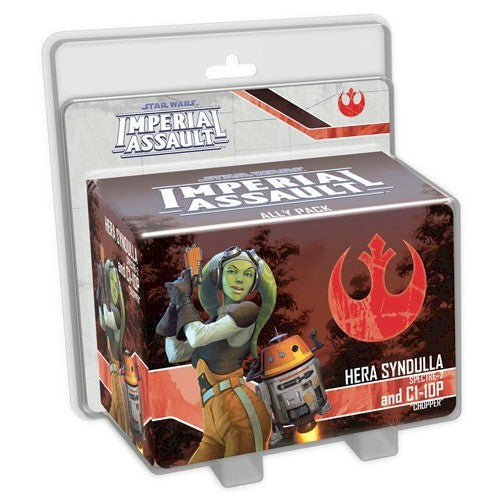 STAR WARS - IMPERIAL ASSAULT - Hera Syndulla & C1-10P Ally Pack