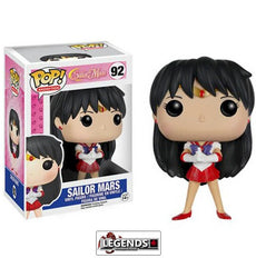 Pop! Animation: Sailor Moon - Sailor Mars Pop! Vinyl Figure #92