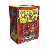 DRAGON SHIELD DECK SLEEVES - Dragon Shield • Classic Red