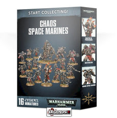 WARHAMMER 40K - START COLLECTING - CHAOS SPACE MARINES II  (2019)