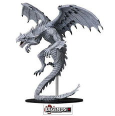 Deep Cuts - Unpainted Miniatures: Gargantuan White Dragon #WZK73145