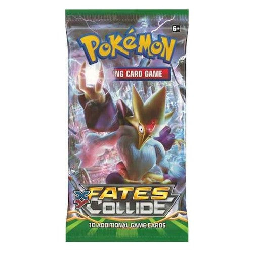 POKEMON - XY— Fates Collide Booster Pack