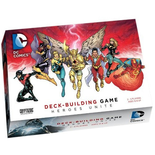 DC Comics Deck-Building Game - Heroes Unite