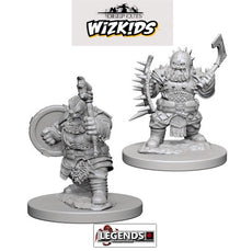 Deep Cuts - Unpainted Miniatures: Dwarf Male Barbarian #WZK72615